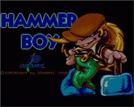 Hammer Boy per Commodore 64
