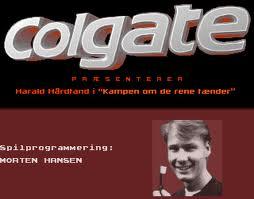 Harald Hårdtand: Kampen om de rene tænder per Commodore 64