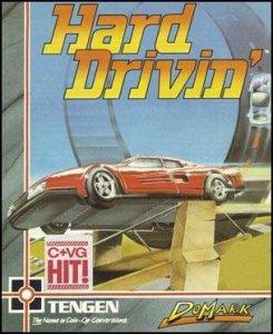 Hard Drivin' per Commodore 64