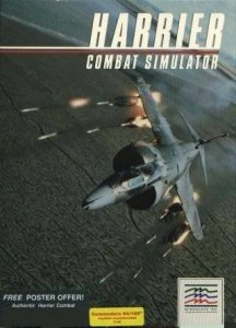 Harrier Combat Simulator per Commodore 64