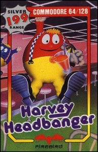 Harvey Headbanger per Commodore 64