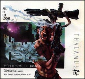Hawkeye per Commodore 64