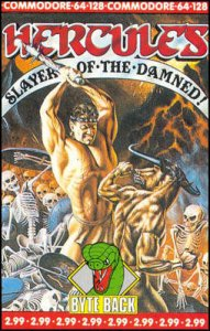 Hercules: Slayer of the Damned per Commodore 64