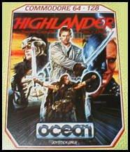 Highlander per Commodore 64