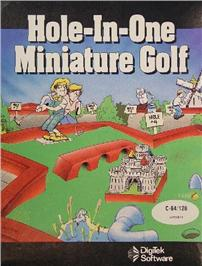 Hole-In-One Miniature Golf per Commodore 64