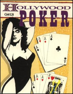 Hollywood Poker per Commodore 64