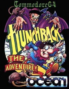 Hunchback: the Adventure per Commodore 64