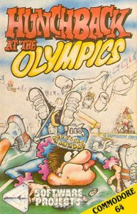 Hunchback at the Olympics per Commodore 64