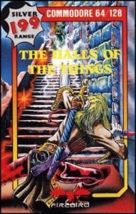 Halls of the Things per Commodore 64