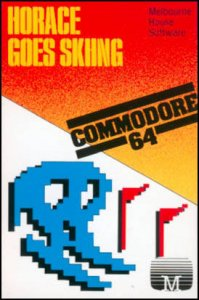 Horace Goes Skiing per Commodore 64