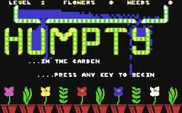 Humpty Dumpty in the Garden per Commodore 64