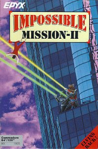 Impossible Mission II per Commodore 64