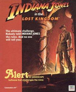 Indiana Jones in the Lost Kingdom per Commodore 64