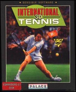 International 3D Tennis per Commodore 64