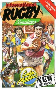 International Rugby Simulator per Commodore 64