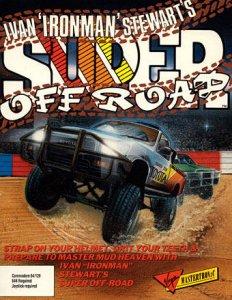 "Ivan ""Iron Man"" Stewart's Super Off Road per Commodore 64"