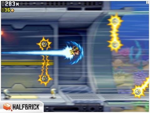 A colpi di jetpack