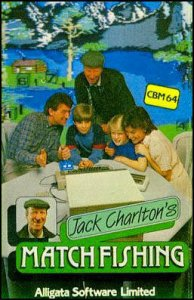 Jack Charlton's Match Fishing per Commodore 64