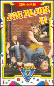 Joe Blade II per Commodore 64