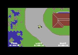John Anderson's Rally Speedway per Commodore 64