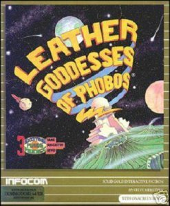 Leather Goddesses of Phobos per Commodore 64