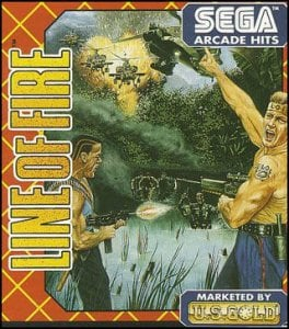 Line of Fire per Commodore 64