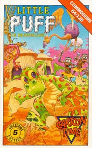 Little Puff in Dragonland per Commodore 64