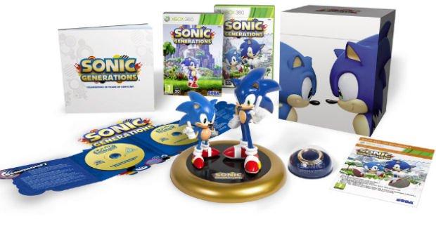Ecco la Collector's Edition di Sonic Generations