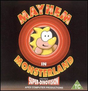 Mayhem in Monsterland per Commodore 64