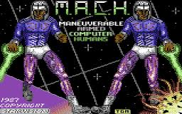 M.A.C.H. - Maneuverable Armed Computer Humans per Commodore 64