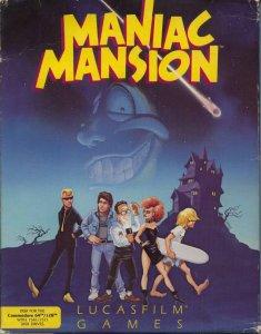 Maniac Mansion per Commodore 64