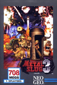 Metal Slug 3 per Neo Geo
