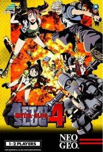 Metal Slug 4 per Neo Geo