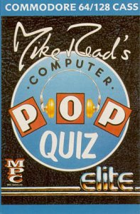 Mike Read's Computer Pop Quiz per Commodore 64