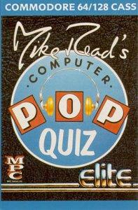 Mike Read's Computer Pop Quiz per Commodore 64