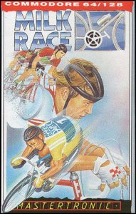 Milk Race per Commodore 64
