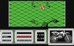 Motorbike Madness per Commodore 64