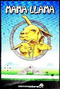 Mama Llama per Commodore 64