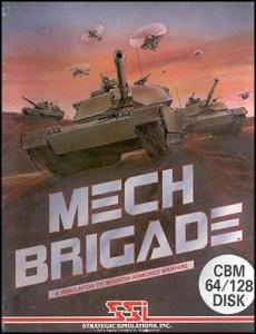 Mech Brigade per Commodore 64