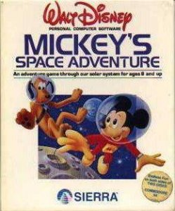Mickey's Space Adventure per Commodore 64