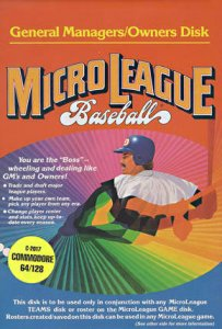 MicroLeague Baseball per Commodore 64