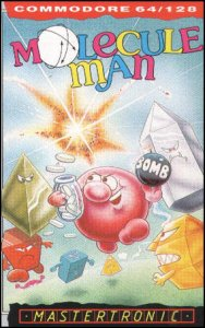 Molecule Man per Commodore 64