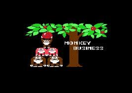 Monkey Business per Commodore 64