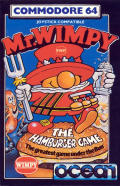 Mr. Wimpy: The Hamburger Game per Commodore 64