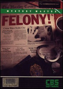 Mystery Master: Felony! per Commodore 64