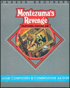 Montezuma's Revenge: Starring Panama Joe per Commodore 64