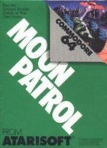 Moon Patrol per Commodore 64