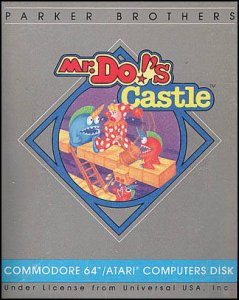 Mr. Do!'s Castle per Commodore 64