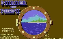 Murder Off Miami per Commodore 64