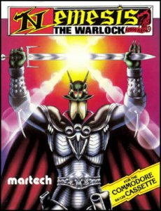 Nemesis the Warlock per Commodore 64